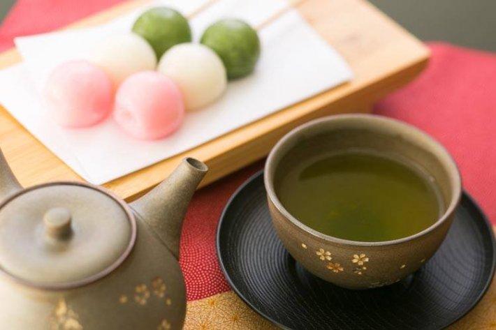 静岡 かめりあ 緑茶 団子