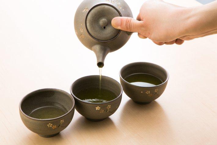 お茶のいれかた