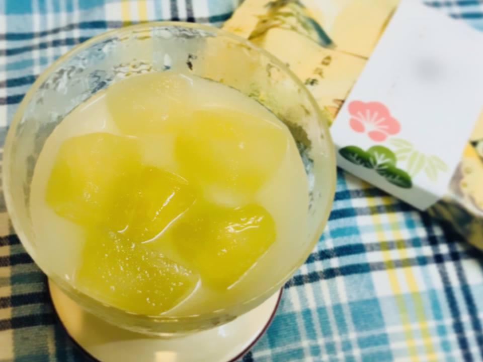 冷茶 緑茶 カルピス