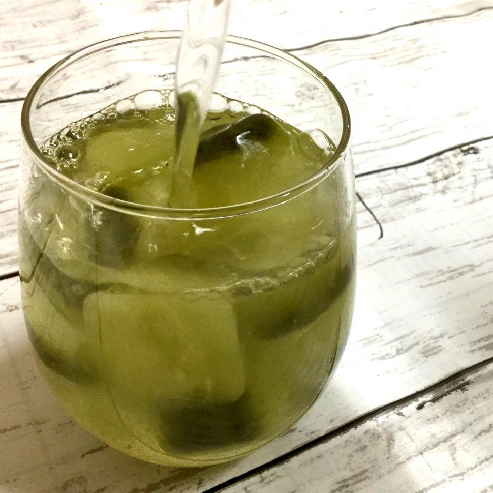 緑茶氷冷酒