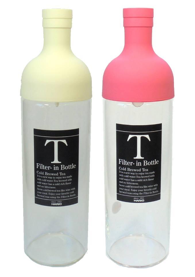 フィルターインボトル かめりあ ホワイト ピンク