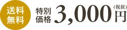 特別価格3,000円