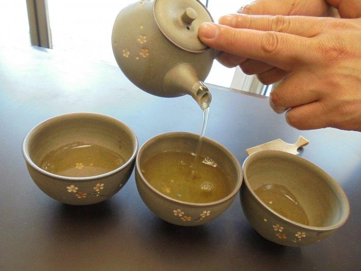 お茶のおいしい淹れ方