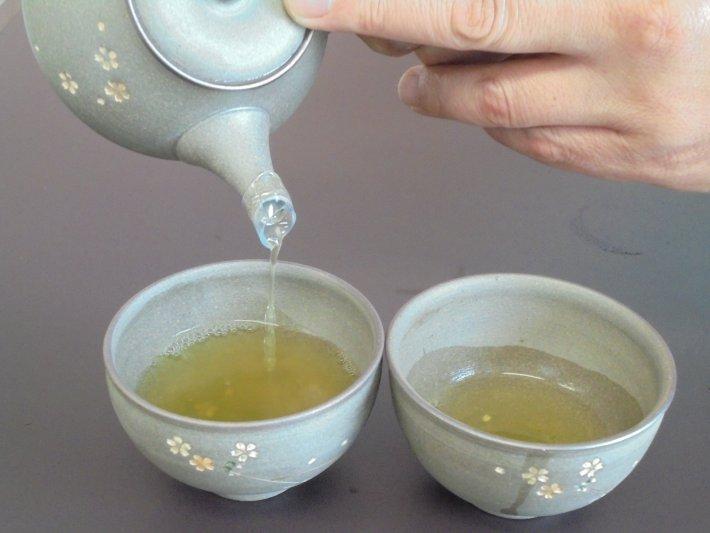 お茶の入れ方